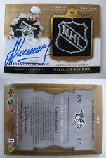 2006-07 Ultimate #117 Alexander Radulov 1/1 NHL rookie SHIELD auto 1 of 1 stars