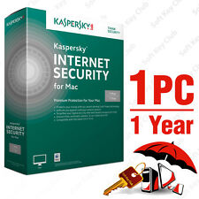 Kaspersky Internet Security for Mac 1PC / Mac 1Year | DOWNLOAD | NO CD