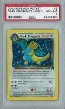 Pokemon Team Rocket Dark Dragonite 5/82 Holo Rare PSA 8