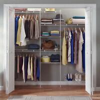 Closetmaid Closet Organizer Kit With Shoe Shelf, 5 To 8