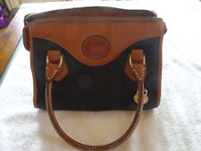 Dooney Bourke Small Handbag Brown Black