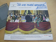 RTD2067 - WE ARE MOST AMUSED - RONCO RECORDS GATEFOLD SLEEVE 2XLP