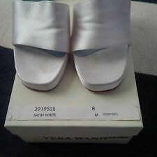 vera wang wedding shoe 391953S high heel size 8 medium width