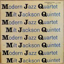 MONO Prestige West 50th  LP 7059 Modern Jazz Quartet Milt Jackson Quintet RVG