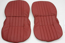 PORSCHE 356 A/B/C VINYL FRONT SEAT COVER SET FOR COUPE CABRIOLET ROADSTER
