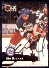 Dave Mcllwain Winnipeg Jets 1991-92 Pro Set ProSet Signed Card