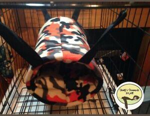 cosy Large Tunnel hammock. ferret,rat,degu, Guinea pig.small Pet.