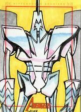Marvel Greatest Heroes 2012 - Color Sketch Card by Javier Gonzalez # 3