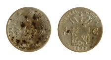 s1170_288) NETHERLANDS INDIES - INDIE OLANDESI 1/10 GULDEN  AG 1858