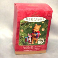 Hallmark Keepsake Ornament Just What They Wanted 2001 Disney Winnie the Pooh