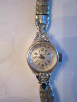 "VINTAGE WALTHAM IN CABLOC 17 J LADIES WATCH - WORKS GREAT - SWISS MOVEMENT 7"" L"