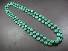 N5380 Ethnic Tibet Tribal Turquoise RESIN Beads Long Statement NECKLACE Jewelry