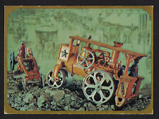 1969 Hallmark old Steam Roller mechanical Toys continental postcard