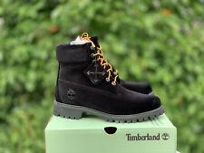 Timberland x Off White Virgil Abloh Black Velvet DS size 7 Supreme Kith Limited