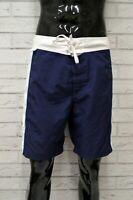 Costume SUNDEK Uomo Taglia 54 Mare Piscina Bagno Shorts Pantaloncino Corto Blu