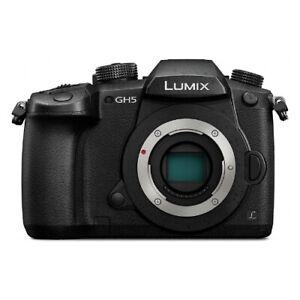Panasonic Lumix DC-GH5 20,3 MP Appareil Photo Hybride Neuf (Boîtier Uniquement)