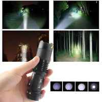 Mini 20000LM 5-Mode XM-L T6 LED Adjustable Focus Al Flashlight Torch Light