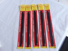 "5 Sealed/NEW Starrett Carbide Grit Hacksaw X1258 Blade 12"" (300mm)"