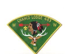 Large Chanco Lodge 483 patch
