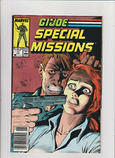 G.I. Joe Special Missions #11 VF+ 8.5 Newsstand Marvel Comics Scarlet,Chuckles