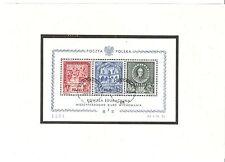 Polen Briefmarken 1946 Bildungskommission Mi.Nr. Block 9 mit Attest