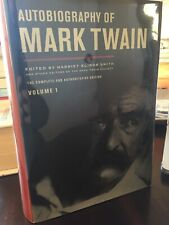 Autobiography of Mark Twain: The Complete and Authoritative Edition Vol. 1 HC/DJ