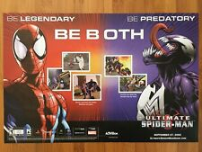 Ultimate Spider-Man Playstation 2 PS2 Gamecube Xbox 2005 Vintage Poster Ad Art