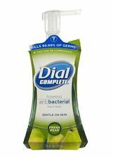 Dial Complete Antibacterial Foaming Hand Wash Fresh Pear 7.50 oz (Pack of 8)