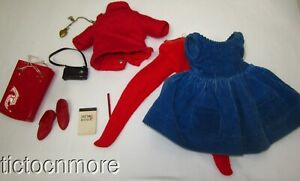 VINTAGE IDEAL TAMMY DOLL FASHION CLOTHES CUTIE CO-ED SET #9132 COMPLETE EARLY TM