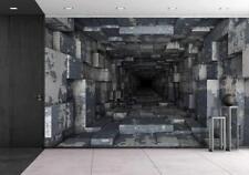 Wall26 - Dark Tunnel - Canvas Art Wall Decor - 66x96 inches