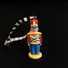 Rare Mary Engelbreit Miniature Christmas Ornament Toy Soldier