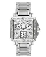 Bulova Women's Quartz Diamond Accents Chronograph Multi Dial 29mm Watch 96R000