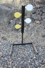 "Dueling Tree AR500 Steel Four 5.5"" Paddles Target Set (Base Included)"