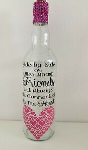 Light Up Bottle Gift For FRIENDS, connected at the heart, birthday gift