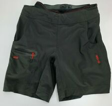 Zoic Black Size Xs Cycling Shorts with Padded Removable Liner Insert