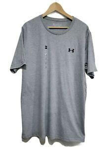 Under Armour Heat Gear Loose Mens T-shirt Size XL, Gray