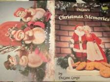 DeLane's Christmas Memories Painting Book-Lange-Santa & Mrs/Angel/Advent Bunny/L