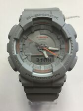 CASIO G-SHOCK S-Series Step Tracker Matte Gray Digital WATCH GMAS130VC-8A