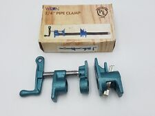 "Wilton Corp 3/4"" Pipe Clamp Clutch Style 450 Blue Nominal Clamping Pressure Nos"