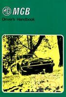 MGB 1979 1980 MG OWNERS MANUAL OWNER'S BOOK HANDBOOK DRIVERS GUIDE