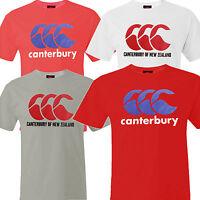 Mens Canterbury Tee CCC Clothing Big Logo T Shirt Rugby New Some Uglies Superb