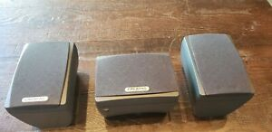 LOT OF 3 GIGAWORKS CREATIVE 2 S700 SPEAKERS THX SURROUND W/ C700 CENTER CHANNEL