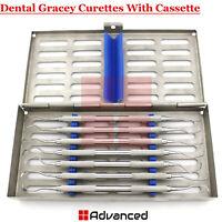 Periodontal Gracey Curettes Root Canal Preparation With 7Pcs Instrument Cassette