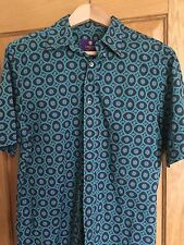 """LIBERTY OF LONDON SHORT SLEEVED SHIRT LARGE 40"""" CHEST AMAZING DESIGN EXCELLENT"""