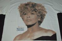 Tina Turner Hanes Hosery Presents Wildest Dreams Concert Tour 1996 Mens XL VTG