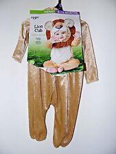 Child Infant/6-12 Mt Lion Cub Jumpsuit Halloween Party Costume Decoration