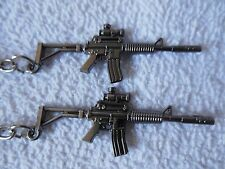 AR 15 - Assault - Rifle**Keychain**{ With  Scope }**Lot-of-2**Free  Shipping*