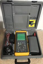 Fluke 97 ScopeMeter Dual Channel 50MHz HandHeld Oscilloscope Excellent condition
