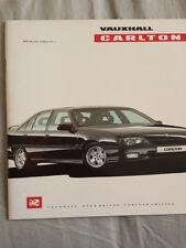 Vauxhall Carlton range brochure 1990 Ed 1