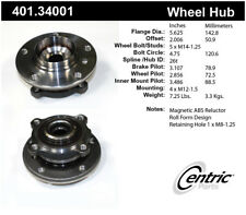 Axle Bearing and Hub Assembly-Premium Hubs Front,Rear Centric 401.34001